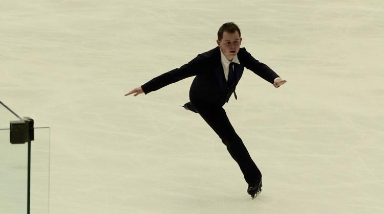Benjamin (23, autisme) kan zich het beste uiten op het ijs afbeelding nieuwsbericht