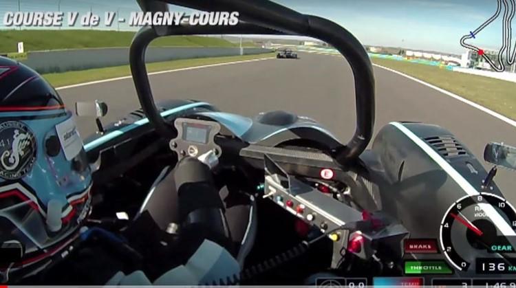 Frederic verloor zijn ledematen, maar deed mee aan de prestigieuze Les Mans race afbeelding nieuwsbericht
