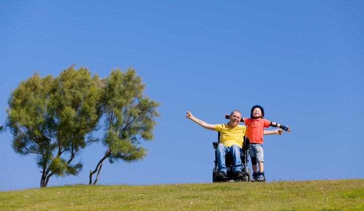 Mooi: een blog voor jonge vaders in een rolstoel afbeelding nieuwsbericht