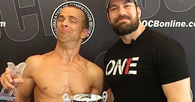 Steve Alexy is bodybuilder met CP afbeelding nieuwsbericht