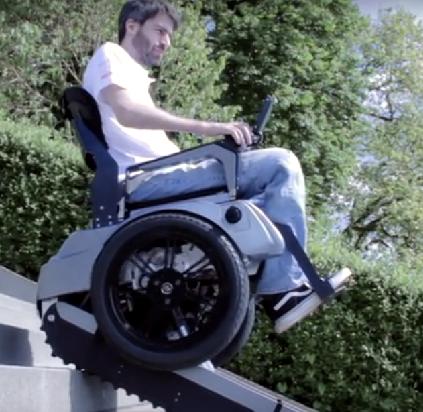 Dit is wel de meest doortrapte rolstoel die er bestaat. afbeelding nieuwsbericht