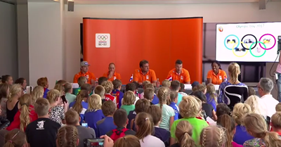 Kijk mee met de Kinderpersconferentie van NOC*NSF afbeelding nieuwsbericht
