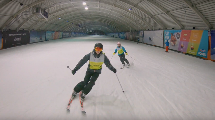 """""""Skiën als je blind bent kan echt wel"""" afbeelding nieuwsbericht"""