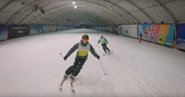 """Afbeelding """"Skiën als je blind bent kan echt wel"""""""