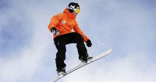 Toen Chris drie was stond hij al op skietjes! afbeelding nieuwsbericht