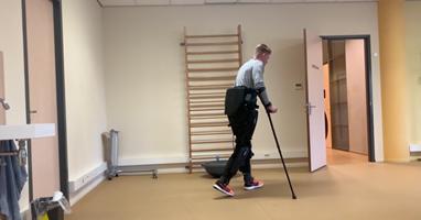 Afbeelding Dennie over exoskelet: 'Droom die uitkwam'