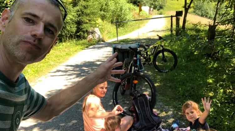 'Uniek' actief met het hele gezin in de Alpen afbeelding nieuwsbericht