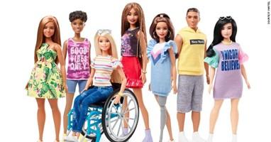 Afbeelding Barbie komt met poppen met een beperking