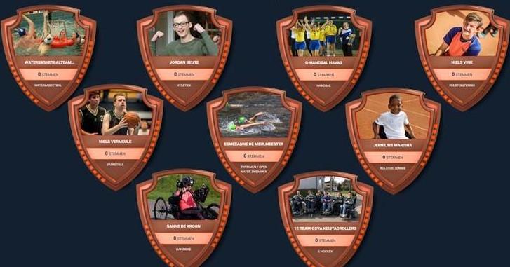 Finale verkiezing Uniek Sporttalent 2018 barst los afbeelding nieuwsbericht