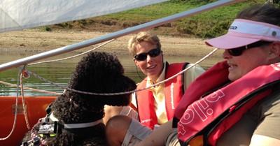 Zelf zeilen op Sailability zeildag WSV Giesbeek afbeelding nieuwsbericht