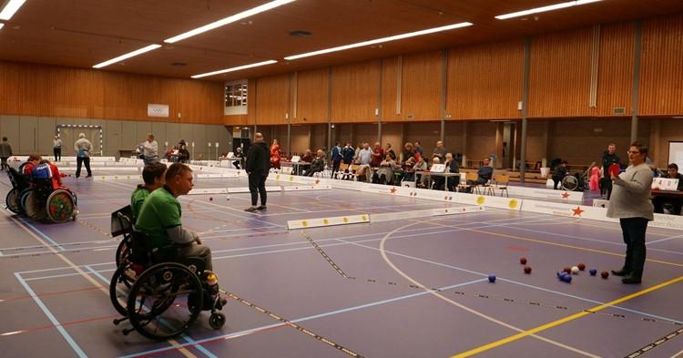 Spannende strijd tijdens de Open Nederlandse Kampioenschappen Boccia afbeelding nieuwsbericht