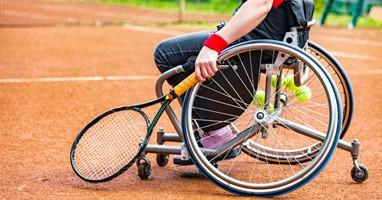 Afbeelding Begin deze zomer met rolstoeltennis