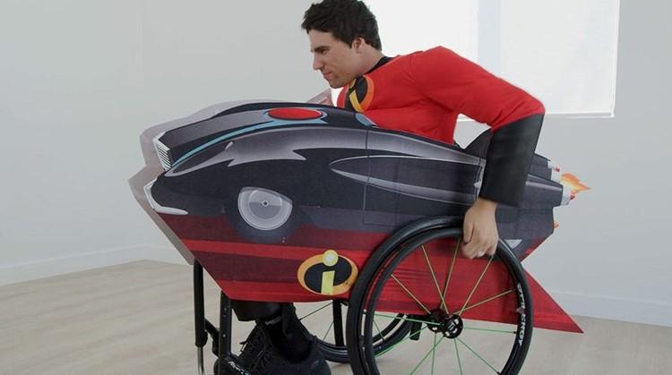 Bouw je rolstoel om tot Disney-voertuig afbeelding nieuwsbericht