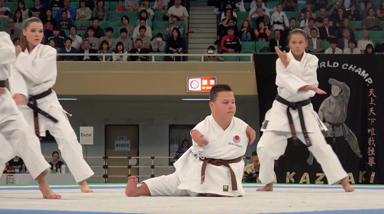 Karate zonder armen en benen afbeelding nieuwsbericht