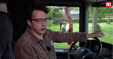Afbeelding Koen maakt droom waar tijdens truckrun