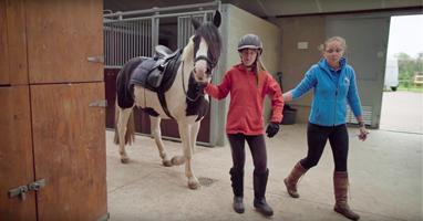 """Afbeelding Lisa: """"Mijn paard let voor ons allebei op"""""""