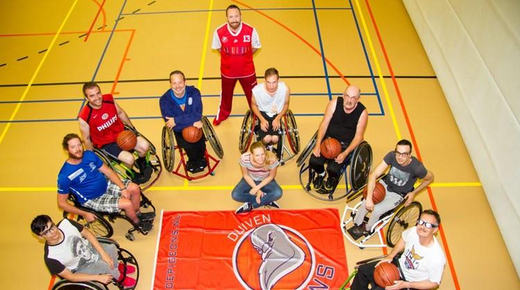 Kijk eens wat zij doen op het basketbalveld afbeelding nieuwsbericht