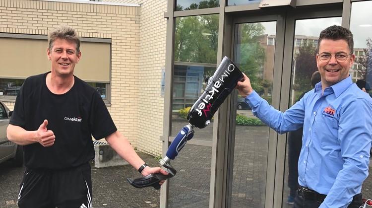Nieuwe prothese geeft Jan weer vrijheid afbeelding nieuwsbericht