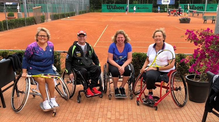 Bij TV Arnolduspark tennissen rollers en lopers tegen elkaar! afbeelding nieuwsbericht