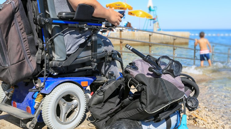 Bij duiken of snorkelen vergeet je je beperking afbeelding nieuwsbericht