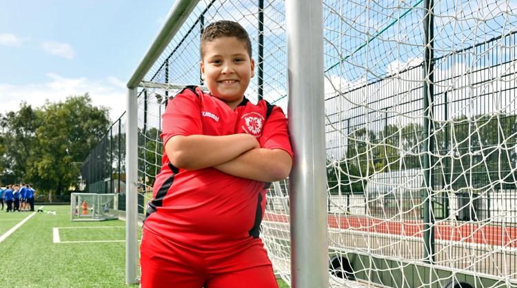 """Ashraf (10): """"Voetbal is mijn leven"""" afbeelding nieuwsbericht"""