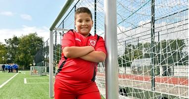 """Afbeelding Ashraf (10): """"Voetbal is mijn leven"""""""