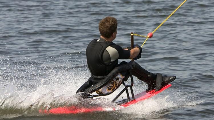 Vlieg met waterski's over het water! afbeelding nieuwsbericht