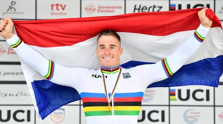Jetze Plat Paralympisch Sporter van Jaar! afbeelding nieuwsbericht