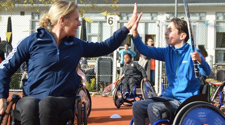 Kom naar onze clinic rolstoeltennis! afbeelding nieuwsbericht