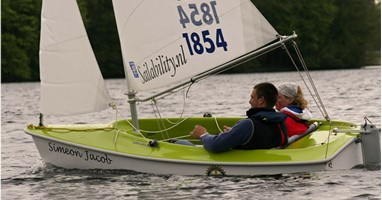 Afbeelding Zeil mee met Sailability in Bergen op Zoom