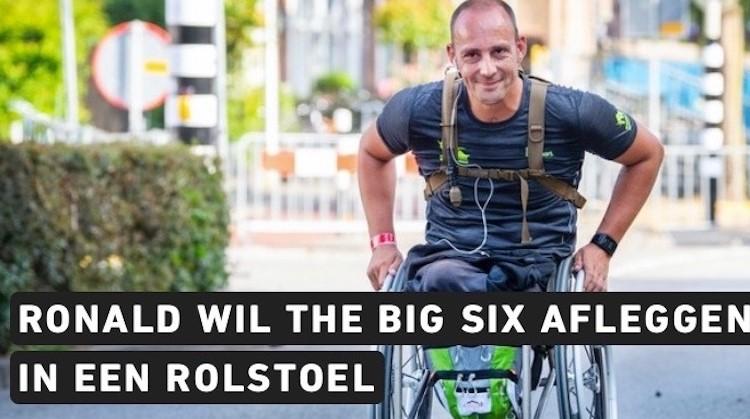 Ronald wil 6 marathons in zijn rolstoel doen afbeelding nieuwsbericht