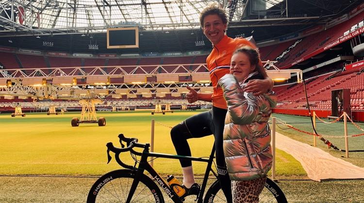 Bas Tietema fietst tijdens Als1Team Challenge 1500 km! afbeelding nieuwsbericht