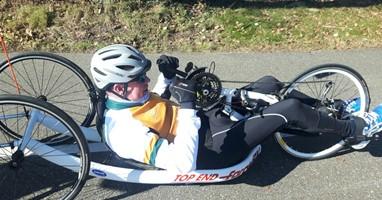 Afbeelding Ton (53, gedeeltelijke dwarslaesie) zoekt jou om mee te handbiken