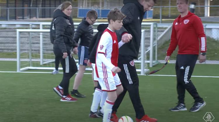 Blindenvoetbal groeit in Nederland! afbeelding nieuwsbericht