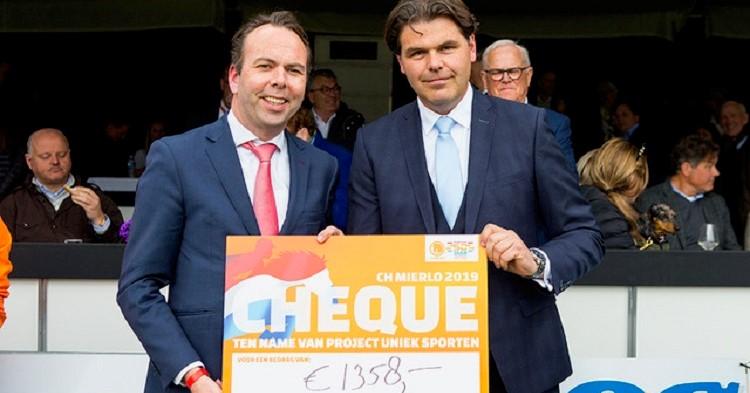 Concours Hippique schenkt deel parkeergelden aan Uniek Sporten Brabant afbeelding nieuwsbericht