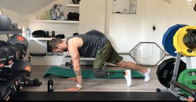Afbeelding Een pittige workout met Robin van Damme