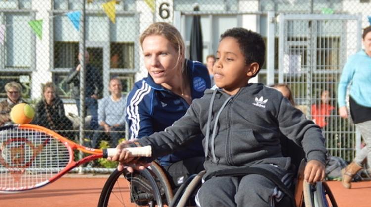 Open dag rolstoeltennis bij L.T.V. Irminloo afbeelding nieuwsbericht
