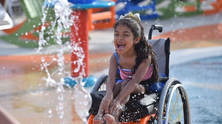 Hóe cool: in Texas is een waterpark ontworpen speciaal voor kinderen met een beperking afbeelding nieuwsbericht