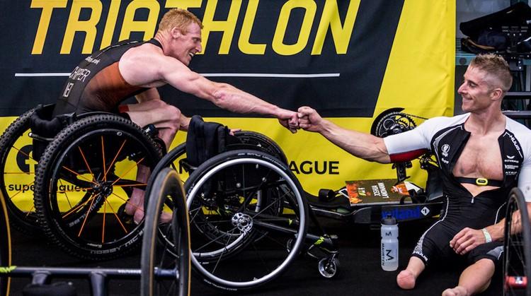 Jetze Plat wint indoor triatlon Rotterdam afbeelding nieuwsbericht