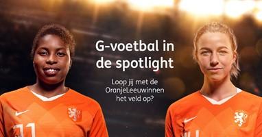 Afbeelding Ga met de OranjeLeeuwinnen mee het veld op!