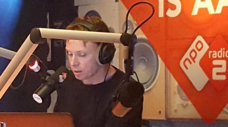 Matijn met CP is nieuwslezer bij Radio 2 afbeelding nieuwsbericht