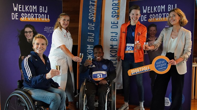 Esther Vergeer Foundation opent vijf Sportpoli's afbeelding nieuwsbericht