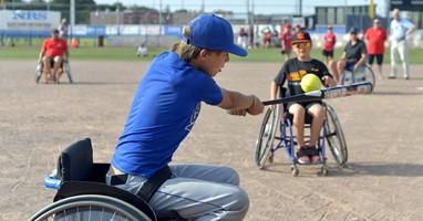 Afbeelding Wordt rolstoelsoftbal jouw sport?