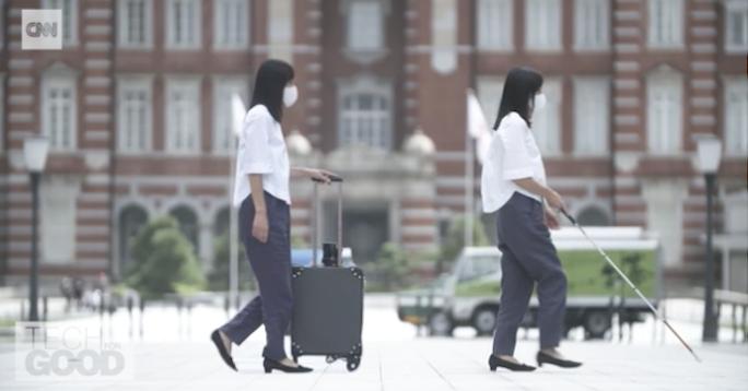 Deze hightech koffer wijst blinden de weg afbeelding nieuwsbericht