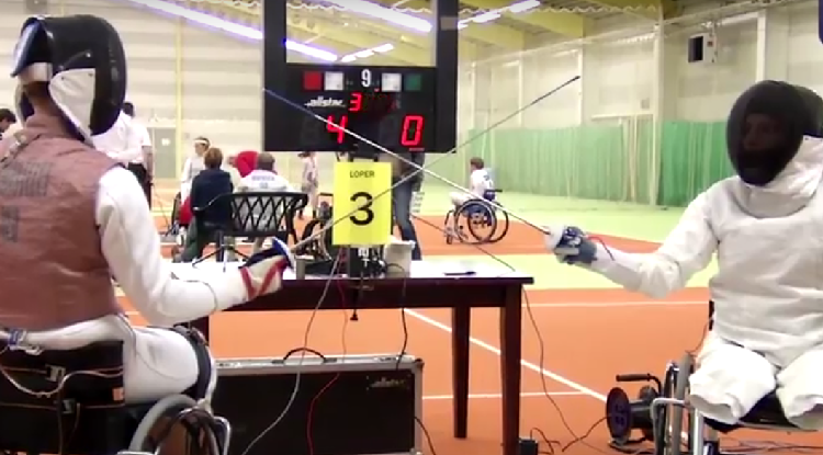 Dit is nog eens enerverend om te doen: rolstoelschermen afbeelding nieuwsbericht