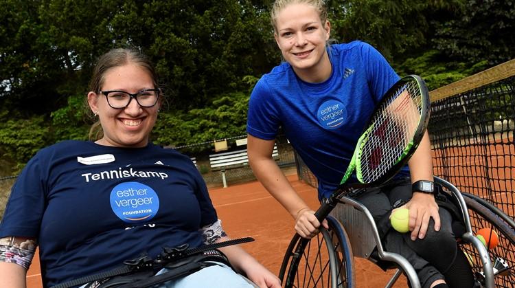 Tennis speelt een grote, positieve rol in het leven van Bionda en haar familie afbeelding nieuwsbericht