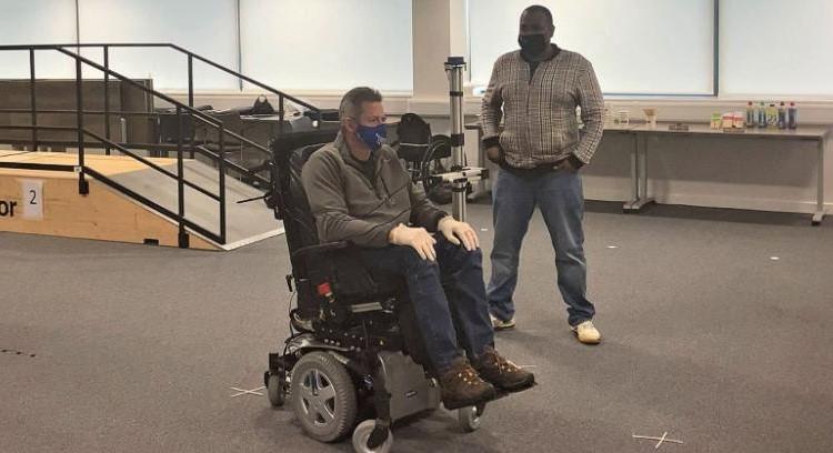 Een rolstoel bedienen met je ogen? afbeelding nieuwsbericht