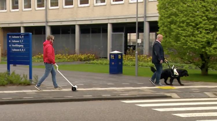Michiel bedacht een 'blindengeleide robot' afbeelding nieuwsbericht