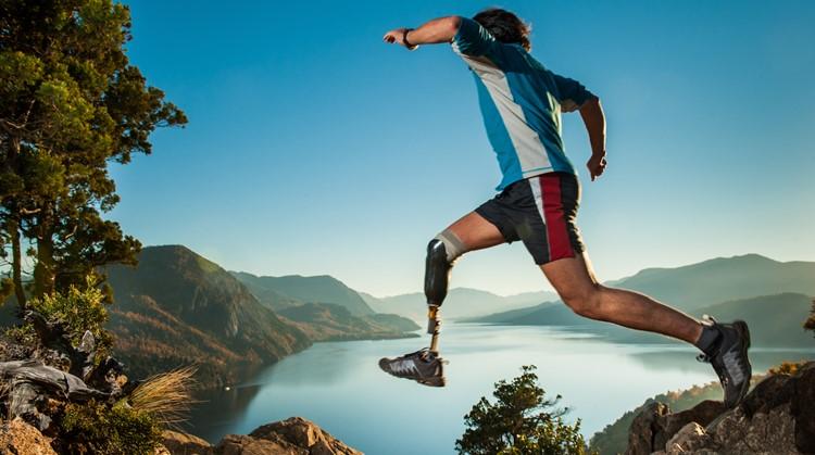 Voor de avonturiers: trailrunning met één been afbeelding nieuwsbericht