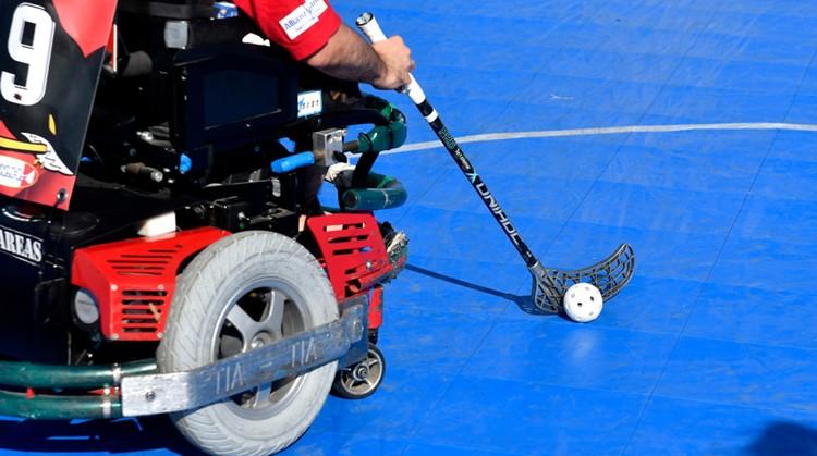 E-hockey: scheuren in je elektrische rolstoel afbeelding nieuwsbericht